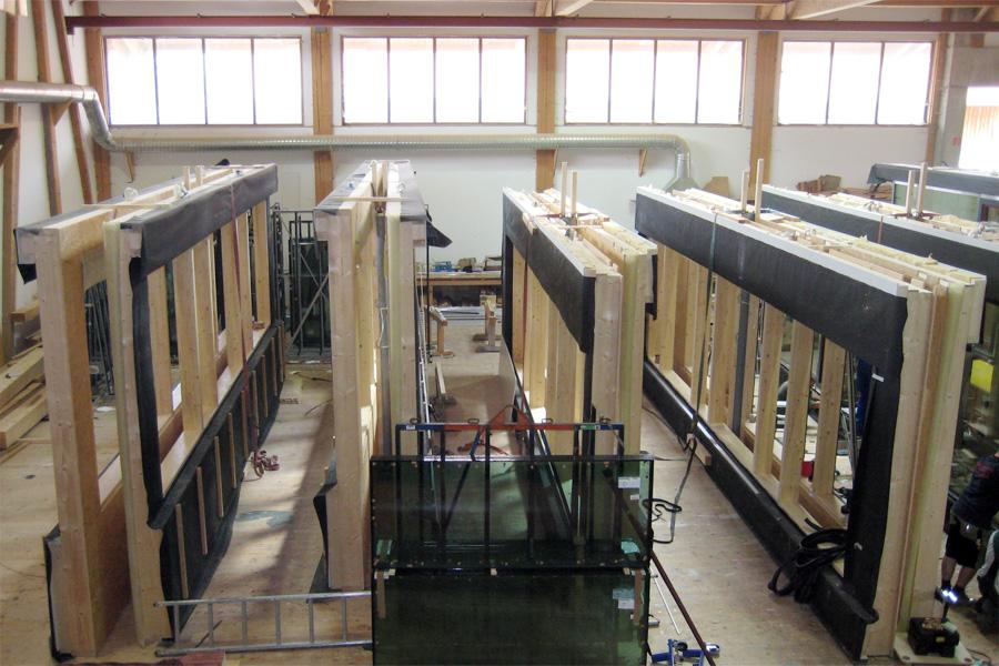Holzrahmenbau eckverbindung  Elemente unseres Holzbausystems: Die Außenwand